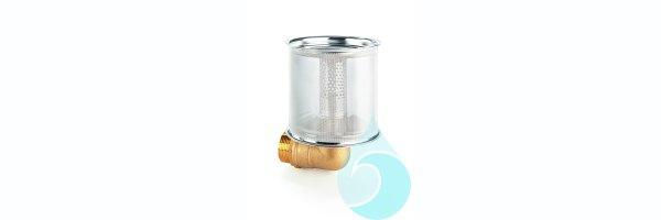 Festmontierbare Ansaugfilter für Unterwasserpumpen