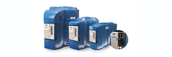 BlueMaster PRO® AdBlue LKW/PKW Doppeltankanlage mit Commercial Management System