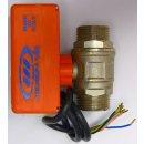 GEP 2 Wege-Motor-Kugelventil Typ 2400 mm Kabel für...