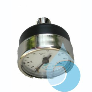 "GEP Manometer 10 bar mit 1/4"" AG für RM3, RMC, RME, Rainline"