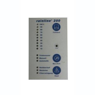 Platinenfolie für Rainline 200