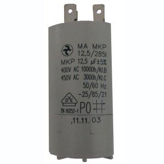 GEP Kondensator 12,5 µF mit Steckkontakten