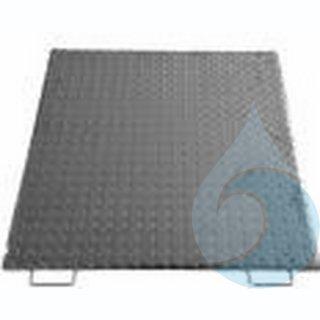Deckel Stahl für BioSafe 6 EW VZ mit Federschließung