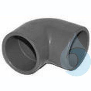 90° Winkelstück ABS für 1 ¼ Zoll Rohre
