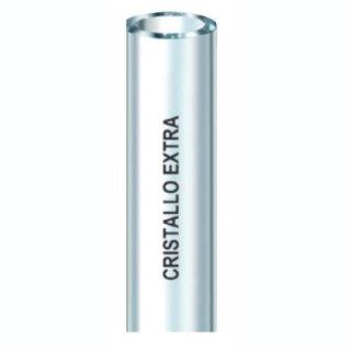 Cristallo extra 10x14 50 m transparente PVC-Schlauch o. Verstärkung