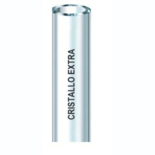 Cristallo extra 20x25 50 m transparente PVC-Schlauch o. Verstärkung