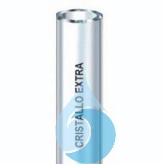 Cristallo extra 32x38 25 m transparente PVC-Schlauch o. Verstärkung