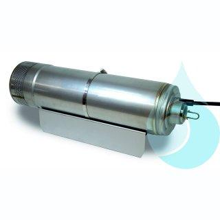 Multigo 205 Grundausstattung mit Trageseil, Ausführung saugseitig mit 1 1/4-Stutzen (IG), Standplatte