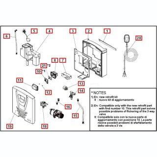 DAB AquaProf Basic/TOP Sensor Gruppe (Pos. 14)