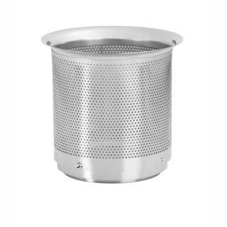 Filtereinsatz WFF 150 mit Titannitrid-Beschichtung Höhe 15,5 cm, Maschenweite 0,44 mm