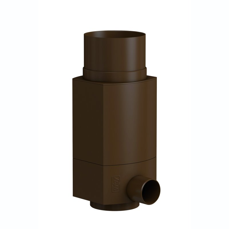 WISY Garten-Regen-Sammler DN 110 VA mit Filtereinsatz