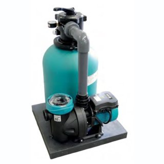 Filteranlage TOP 350 mit Pumpe Silen I 33 8 M