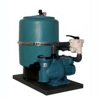 Filteranlage SF 400 mit Pumpe Silien I 50 12 M