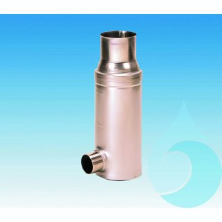 Filtersammler FS VA Edelstahl DN 100/102 mm 0,28 mm