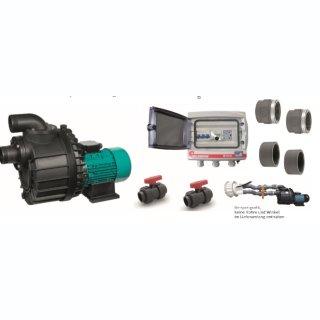 Nadorself 400 T (400V) Gegenstromanlage Komplettbausatz mit Counterflow D