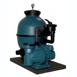 Filteranlage LIBRA 760 mit Pumpe Silien S2 100 24 M