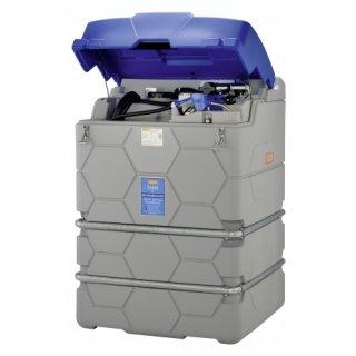 Adblue Cube Tank Basic Outdoor 2500 Liter mit Klappdeckel mit Tankautomat