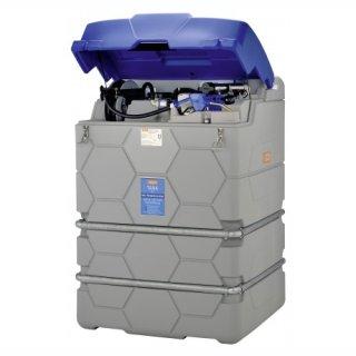 Adblue Cube Tank Premium Outdoor 1500 Liter mit Klappdeckel ohne Tankautomat