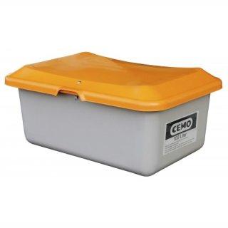 Streugutbehälter Plus 3 100 Liter ohne Entnahmeöffnung ohne Staplertasche Behälter grau/orange
