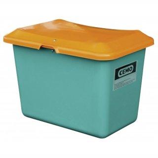 Streugutbehälter Plus 3 200 Liter ohne Entnahmeöffnung ohne Staplertasche Behälter grün/orange