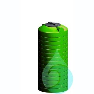 Wisy Regentonne Stabilix 1 Inhalt 500 L Mit Schraubverschluss Dn
