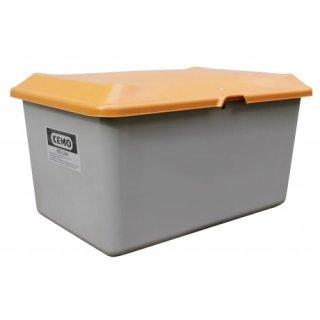 Streugutbehälter Plus 3 400 Liter ohne Entnahmeöffnung ohne Staplertasche Behälter grau/orange