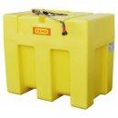 Mobiles Bewässerungssystem BWS 30-PE 600 Liter mit Schwallwand