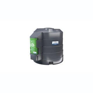 FuelMaster Dieseltankanlage 5000 L. Zählwerk K600. 72 l/min, 6 m Abgabeschlauch mit Schlauchaufroller ohne Dieselölfilter
