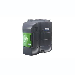 FuelMaster Dieseltankanlage 9000 L, Zählwerk K600, 72 l/min, 6 m Abgabeschlauch mit Schlauchaufroller ohne Dieselölfilter