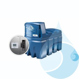 BlueMaster Pro Tankanlage mit AMS 2500 Liter ohne Klimapaket