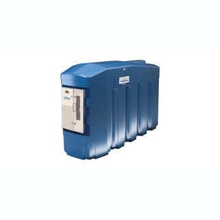 BlueMaster Pro AdBlue LKW/PKW Doppeltankanlage mit Commercial Management System 4000 Liter mit Klimapaket und Protokoll DI
