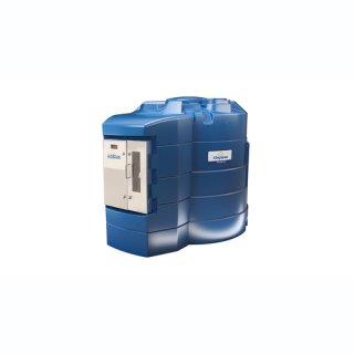 BlueMaster Pro AdBlue LKW/PKW Doppeltankanlage mit Commercial Management System 5000 Liter mit Klimapaket und Protokoll DI
