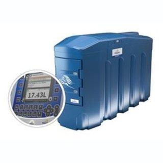BlueMaster Pro AdBlue LKW/PKW Doppeltankanlage mit Commercial Management System 4000 Liter mit Klimapaket und Protokoll LON