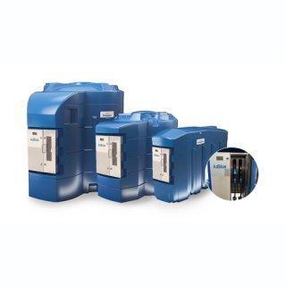 BlueMaster Pro AdBlue LKW/PKW Doppeltankanlage mit Commercial Management System 9000 Liter  mit Klimapaket und Protokoll LON