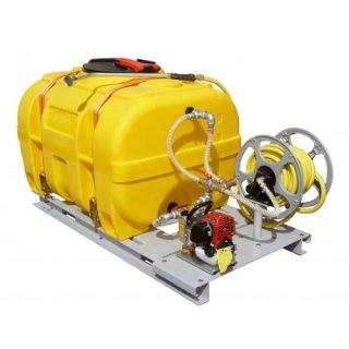 Mobiles Bewässerungssystem BWS 130-PE 1000 Liter mit Schwallwand