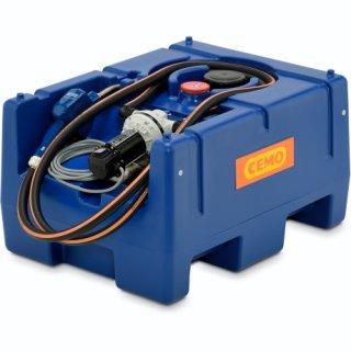 Blue-Mobil Easy M 125 Liter mit  Elektropumpe 24 V ohne Zählwerk K24 ohne Klappdeckel ohne Kranösen