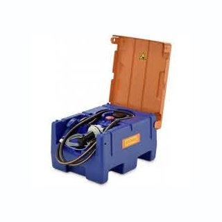 Blue-Mobil Easy M 125 Liter mit Elektropumpe 12 V ohne Zählwerk K24 mit Klappdeckel ohne Kranösen