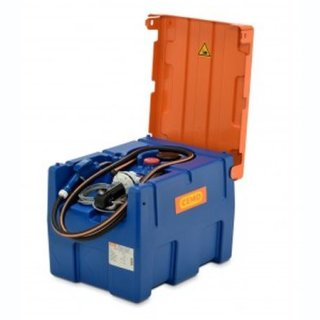 Blue-Mobil Easy M 200 Liter mit Elektropumpe 12 V ohne Zählwerk K24 mit Klappdeckel ohne Kranösen