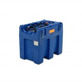 Blue-Mobil Easy M 600 Liter mit  Elektropumpe 24 V ohne Zählwerk K24 ohne Klappdeckel mit Kranösen
