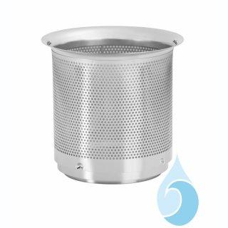 Filtereinsatz aus Edelstahl für WFF 150, Maschenweite 0,44 mm