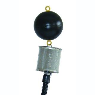 Schwimmende Fein-Filter-Ansaug-Set mit 1 Rückflussverhinderer und 3 m Saugschlauch