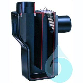 Multisiphon , ohne Rückstausicherung,  mit Kleintierschutz, ohne Sicherungsschelle