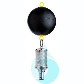 SAFF mit Schwimmkugel, integriertem Rückflussverhinderer und 1-Schlauchtuelle