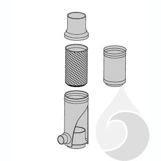 Filtereinsatz für FS und STFS aus Edelstahl für alle Nennweiten; Maschenweite = 0,44 mm,
