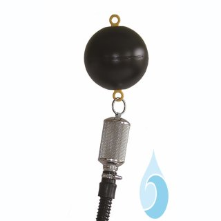 SAGF f. Unterwasserpumpen, Schlauchlänge 1 m, Schwimmkugel, 1-Anschluss f. Tülle