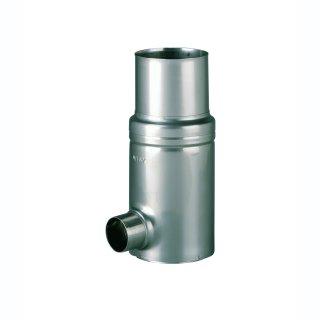 GRS 76 VA ohne Filtereinsatz f. Fallrohre Kunststoff DN 70, Außendurchmesser 75 mm , Auslaufstutzen DN 50