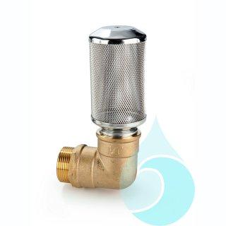 FAGF aus Edelstahl zum direkten Anschluss an Unter-Wasserpumpen 1 1/4-AG, ohne Rückflussverhinderer