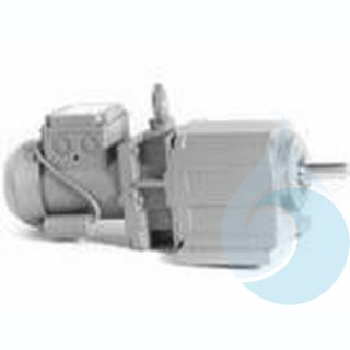 Elektromotor inklusive Getriebe für NF (BF), 400 V, 120 W