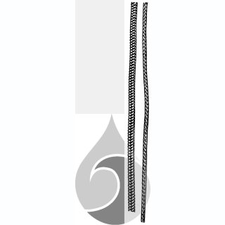 Trage- und Zugseil  8 mm pro m